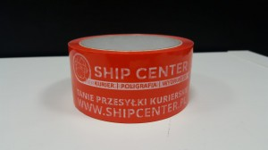 Taśma pakowa Ship Center  ( 6 szt)- 48/60 hotmelt
